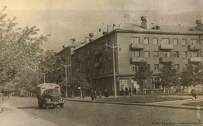 Барановичи. Комсомольская улица, 1969