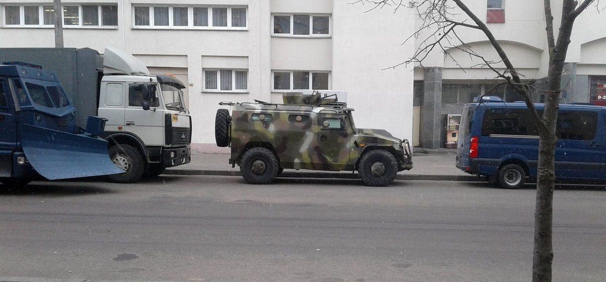 Необычная спецтехника белорусских спецслужб на улицах Минска (фотообзор)