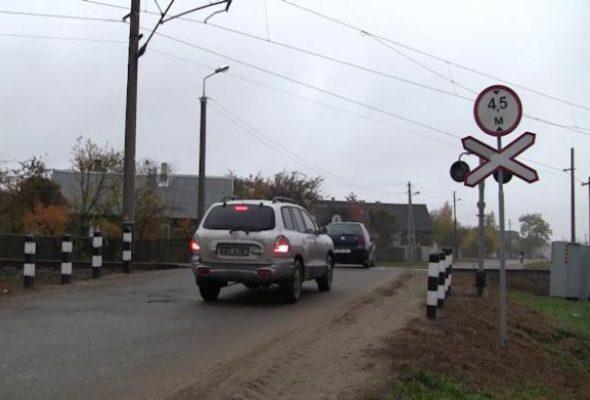 В Барановичах временно перекроют движение через переезд