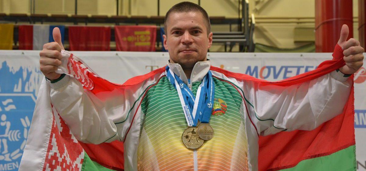 Барановичский спортсмен стал чемпионом Европы по пауэрлифтингу