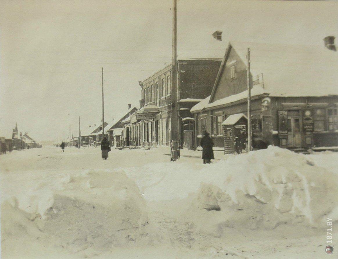 Блюхерштрассе, Барановичи, 1916