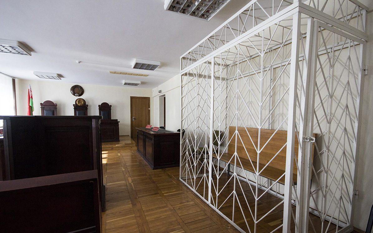 Зал суда, где рассматривалось дело Вильхового. На время процесса съемка была запрещена