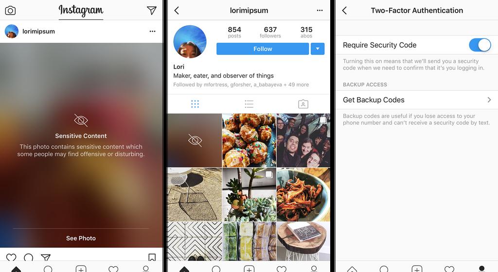 В Instagram запустили функцию, защищающую от просмотра «потенциально неприемлемых материалов»