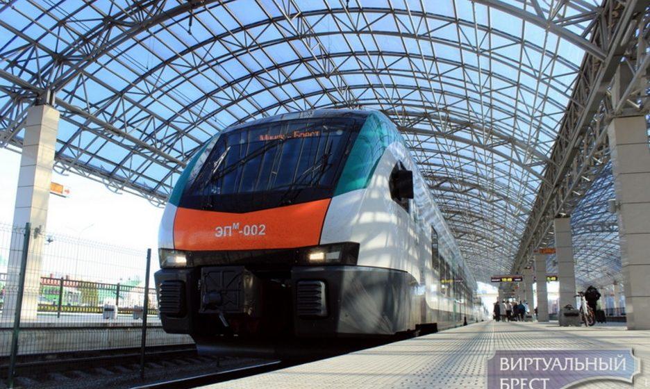 Новую скоростную электричку с баром и бесплатным Wi Fi запусила БЖД на маршруте Минск – Брест