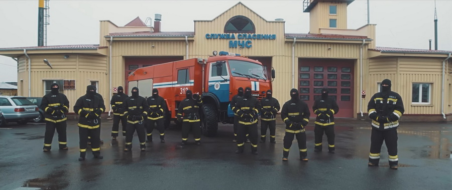 Речицкие спасатели сняли свою версию «Тает лед»