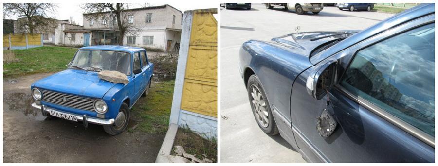 В Минском районе 22-летний парень за ночь разгромил 14 машин