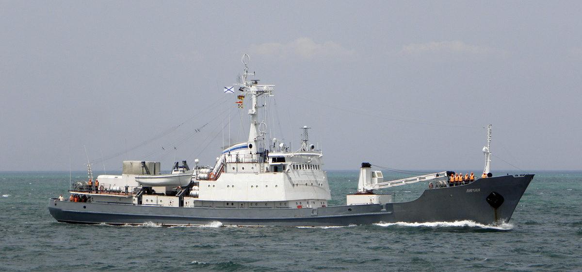 Российский корабль ВМФ потерпел крушение у берегов Турции, 15 моряков считались пропавшими без вести