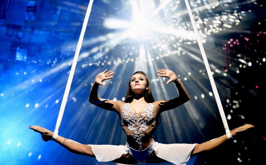 Видео падения гимнастки в минском цирке выложили в сеть