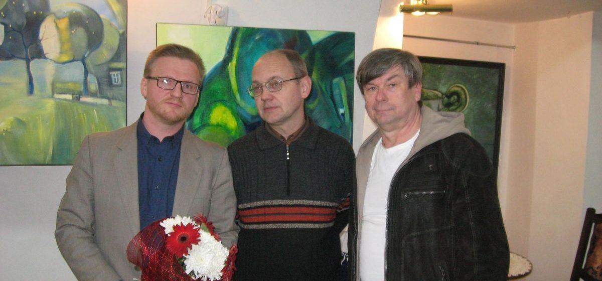 Выставка барановичского художника открылась в Бресте