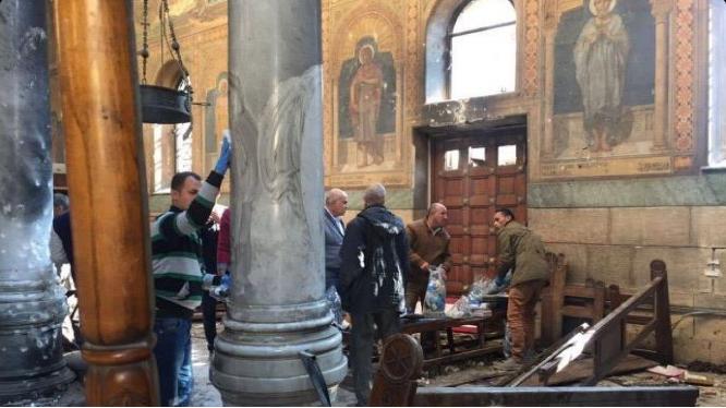 В Египте во время взрывов в соборах погибли 36 человек