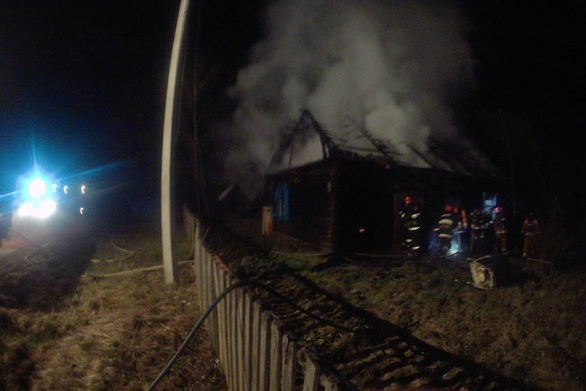 В Барановичском районе во время пожара погиб пенсионер