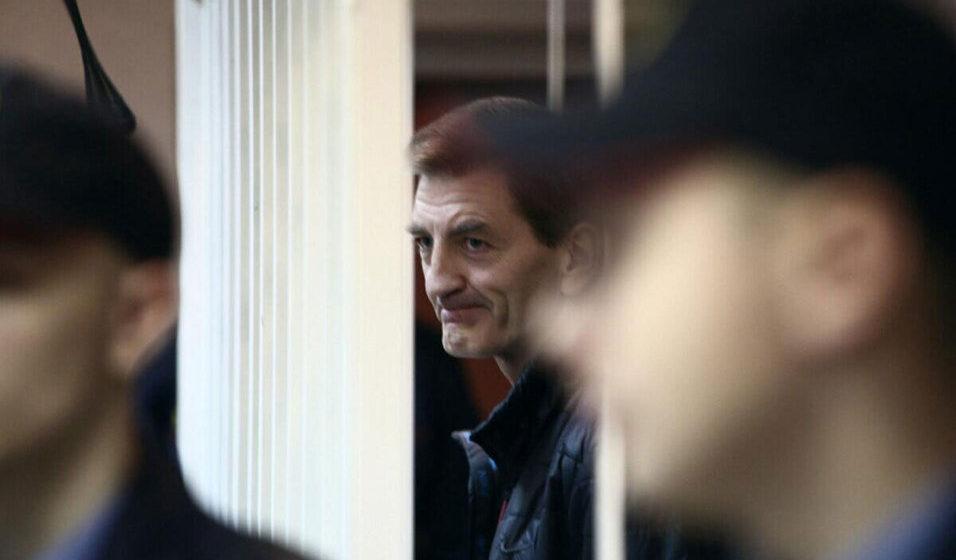 Вячеслав Давыдович в суде 28 декабря 2016 года. Фото: Сергей ГУДИЛИН, «Наша Нива»