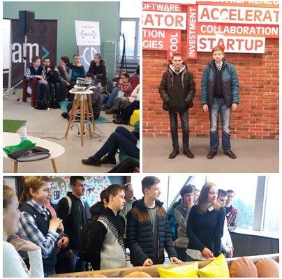 Барановичские школьники приняли участие в акции «IT-каникулы»