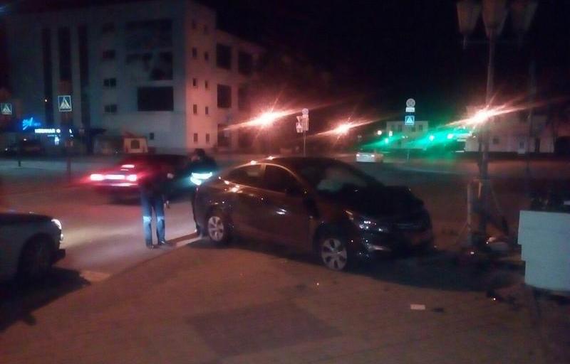 В Кобрине бесправница наехала на 15-летнюю девочку