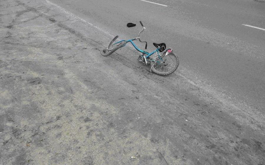 Семилетний велосипедист попал под грузовик под Островцом