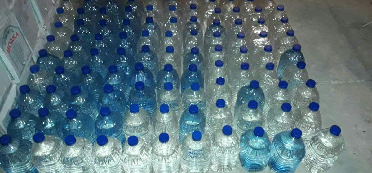 В Барановичах изъяли 550 литров спирта
