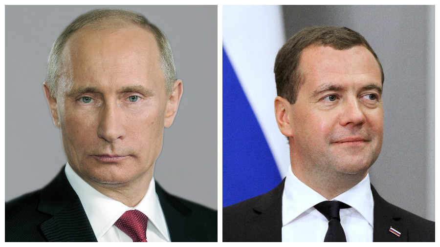 Путин и Медведев опубликовали декларации своих доходов за 2016 год