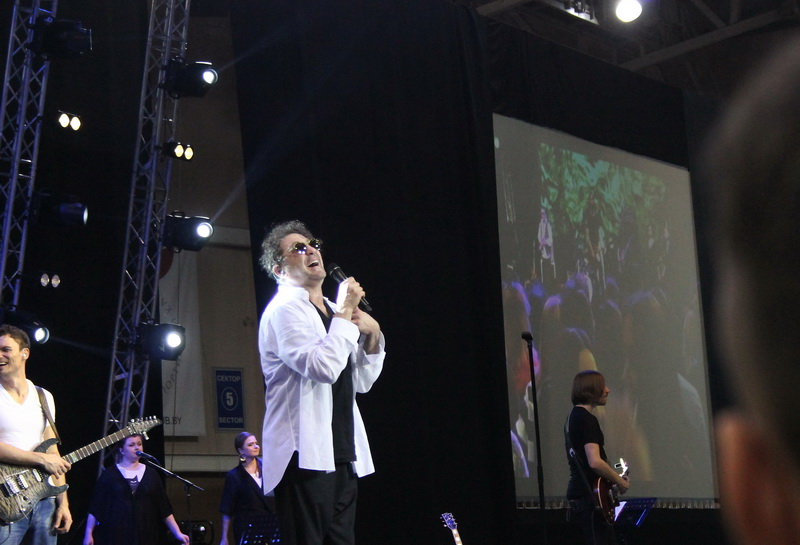 Как прошел концерт Лепса в Барановичах