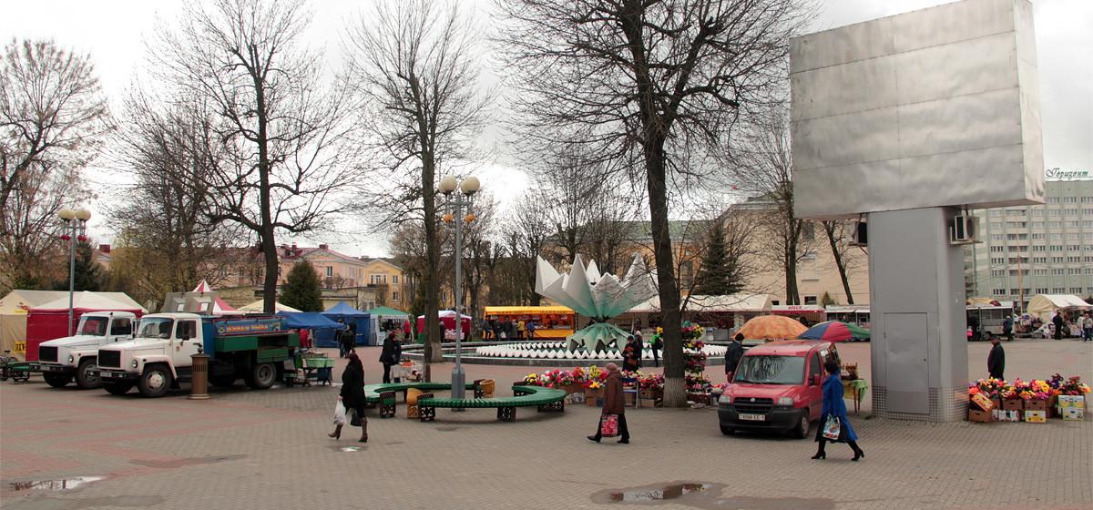 В Барановичах проходит пасхальная ярмарка