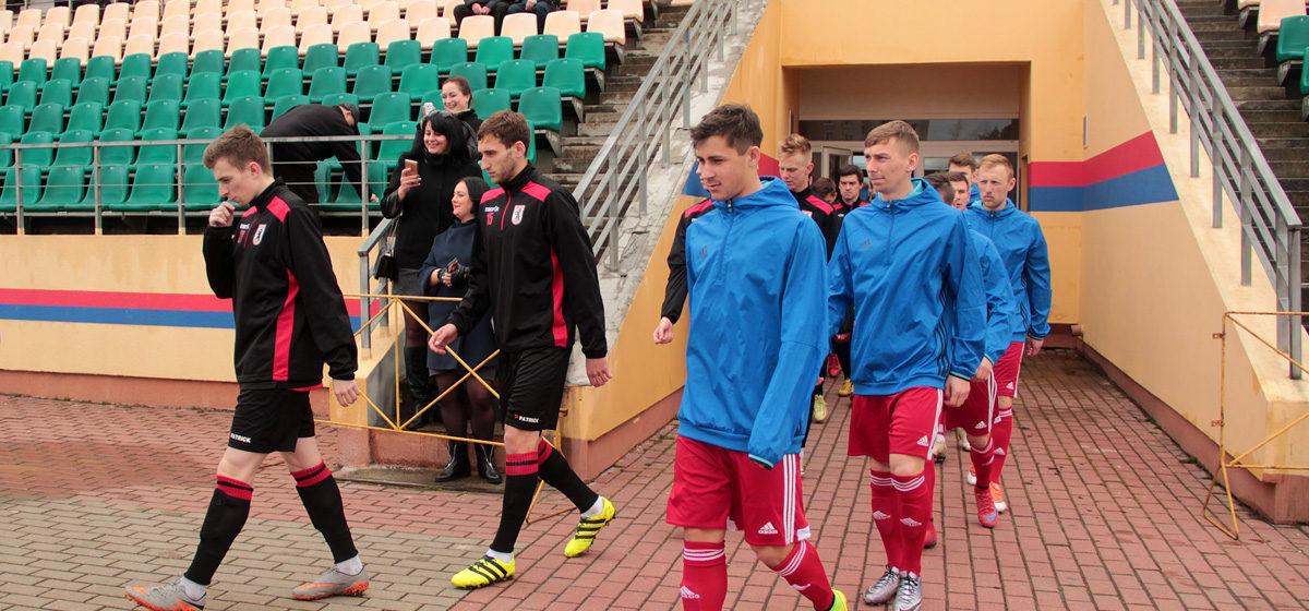 ФК «Барановичи» проиграл в первой домашней игре сезона