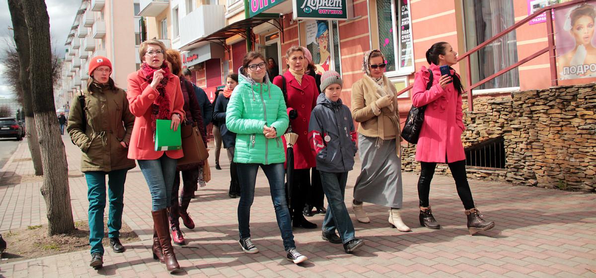 В Барановичах прошла экскурсия по улице Ленина