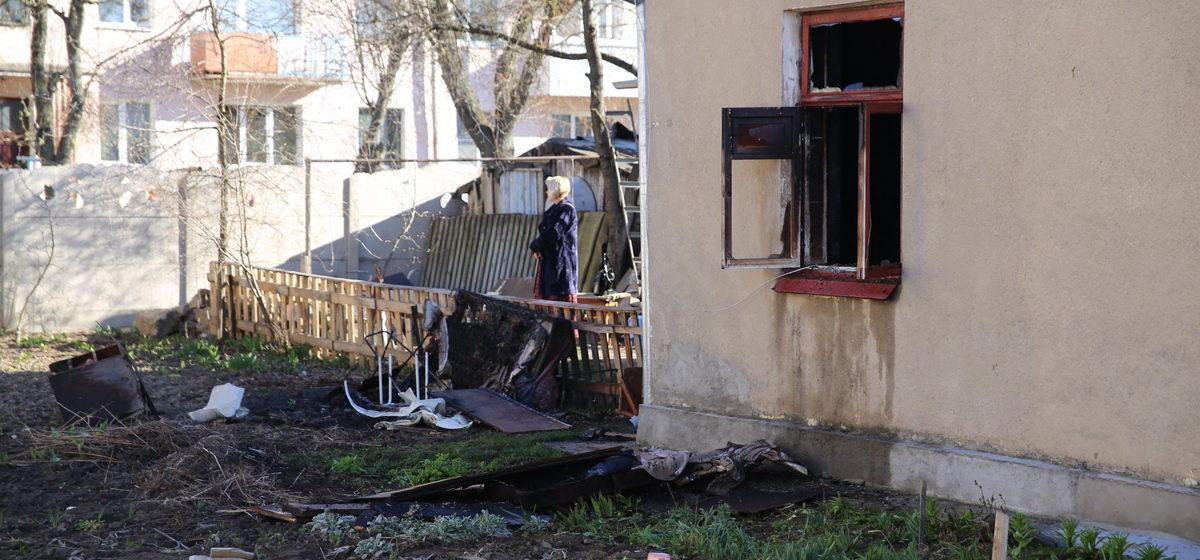 В Барановичах на пожаре погиб мужчина