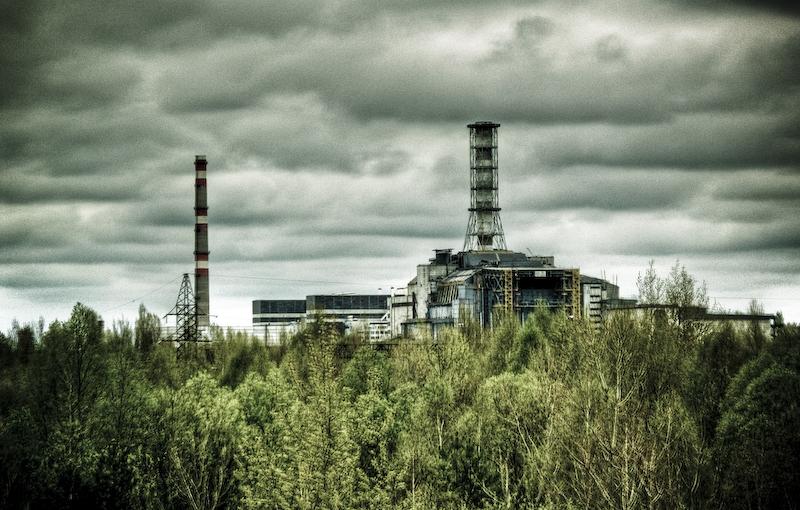 Уникальные видео Чернобыльской зоны с дрона