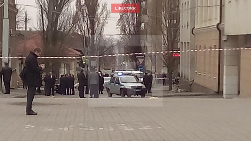 В центре Ростова произошел взрыв