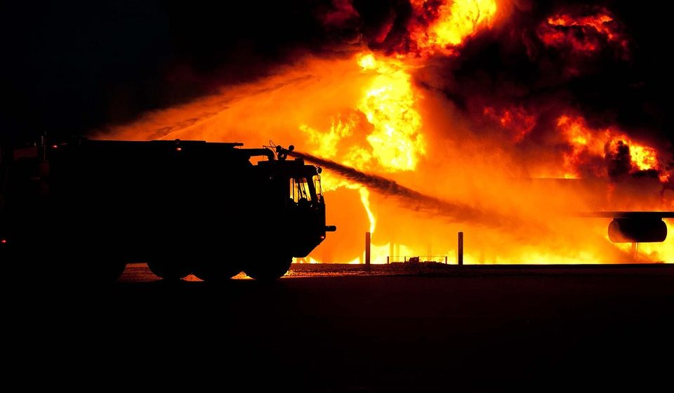 В Барановичах 2 апреля произошло три пожара