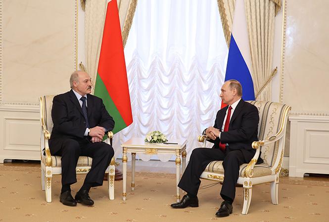 Лукашенко и Путин поговорили по телефону