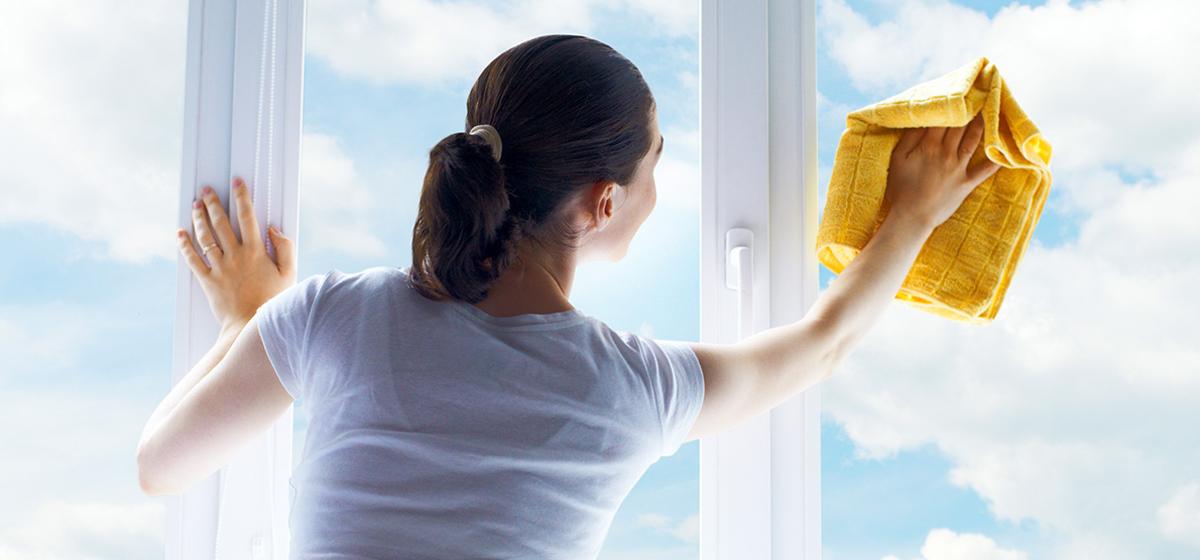 Как к праздникам навести порядок в доме: уход за окнами*