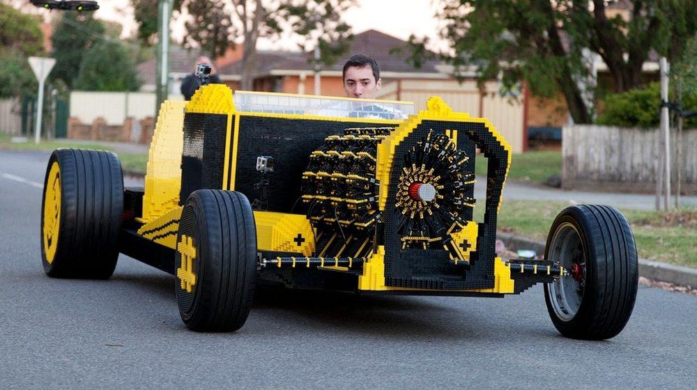 Автомобили из необычных материалов