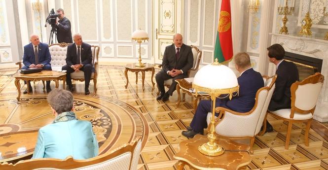 Лукашенко – представителю ЕС: «В вашем приезде в Беларусь я был крайне заинтересован»