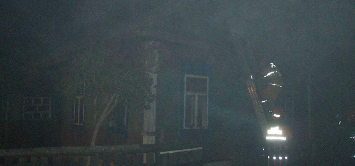 Мать и сын погибли на пожаре в Ляховичском районе