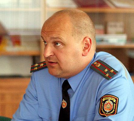 Лукашенко назначил начальника УВД Брестского облисполкома