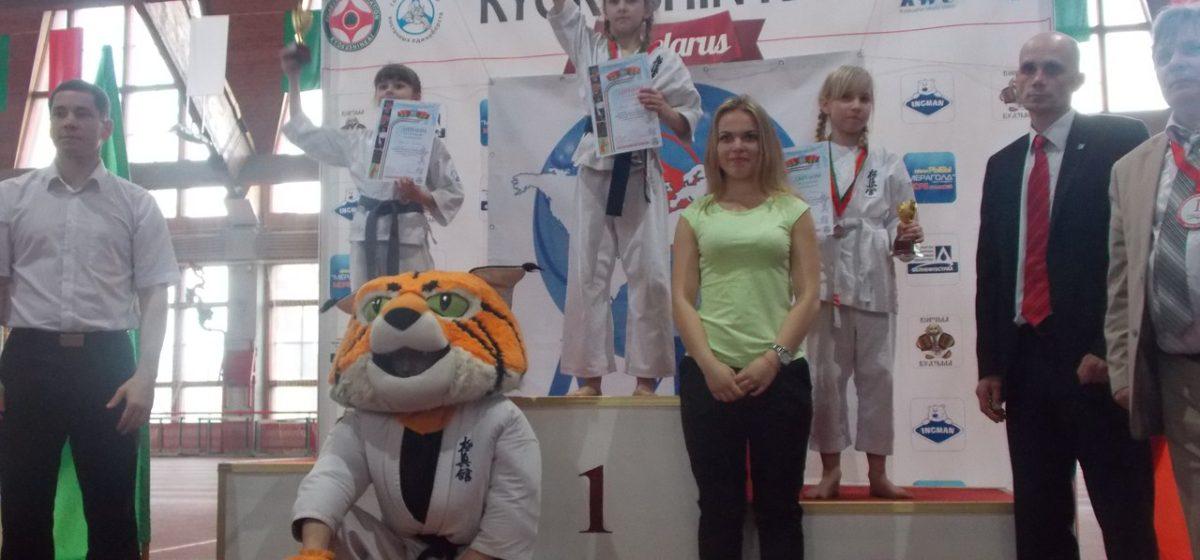 Барановичские каратисты завоевали 12 наград на международном первенстве