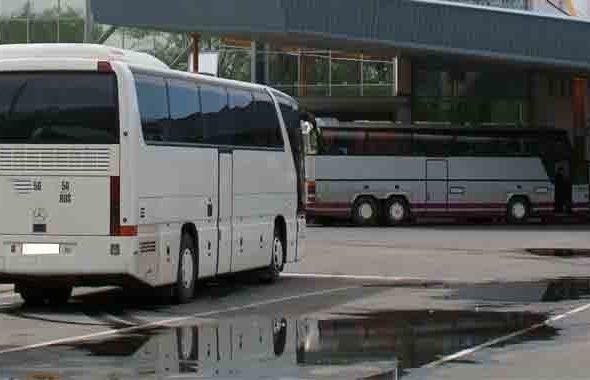 Автобус приехал на белорусско-украинскую границу с трупом под колесами