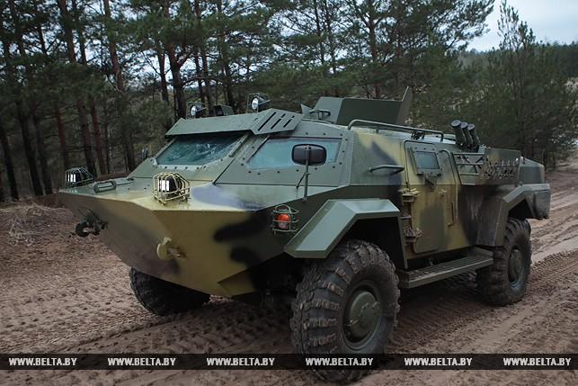 Как выглядит новый белорусский броневик «Кайман» (фото, видео)