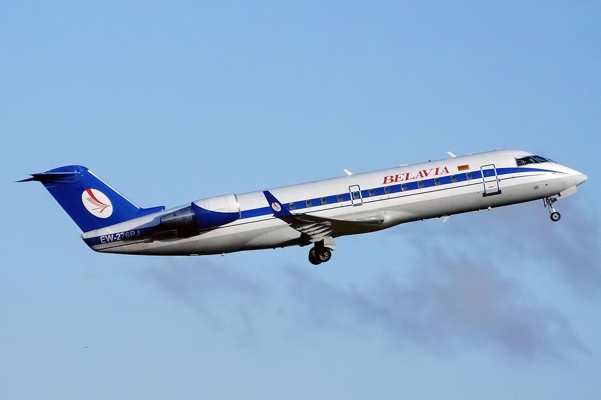 Самолет Белавиа. Фото: wikimedia.org