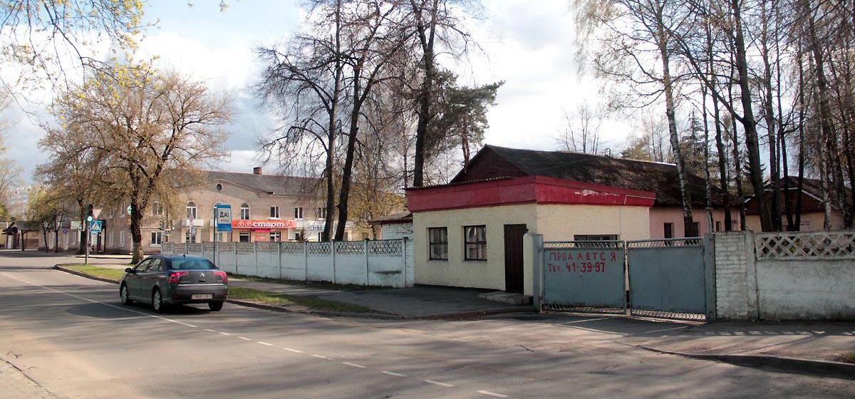 Что построят на месте военной комендатуры в Барановичах, пока не решили