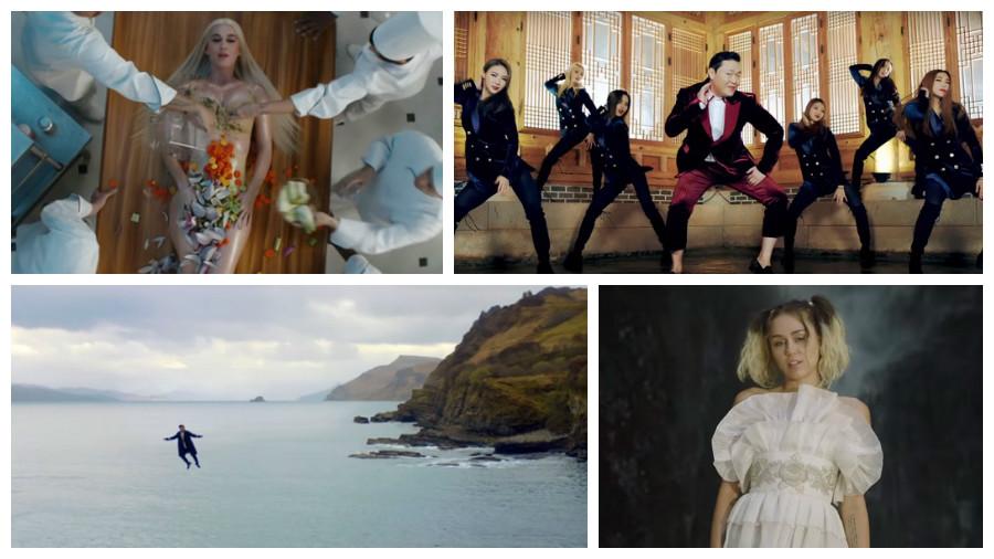 ТОП-5 музыкальных клипов на YouTube за май