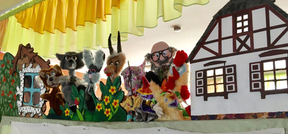 Лялечны тэатр ТБМ паказаў баранавіцкім дзецям казку