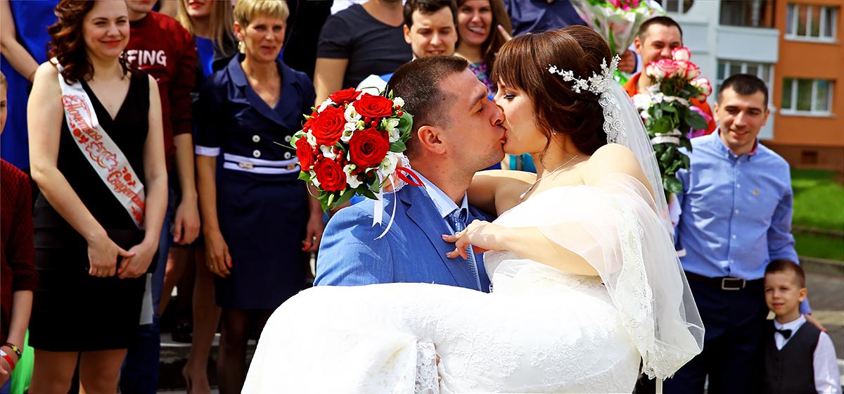 Свадебная пара недели: Евгений и Надежда