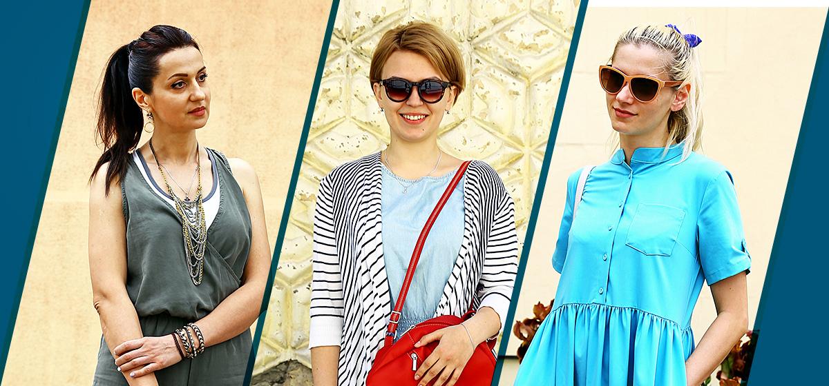 Модные Барановичи: Как одеваются визажист, студентка и мама в декрете
