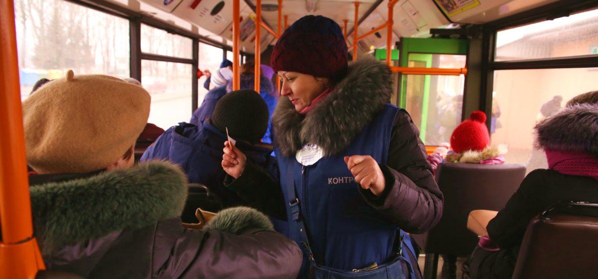 «Зайцев» в барановичских автобусах стало больше