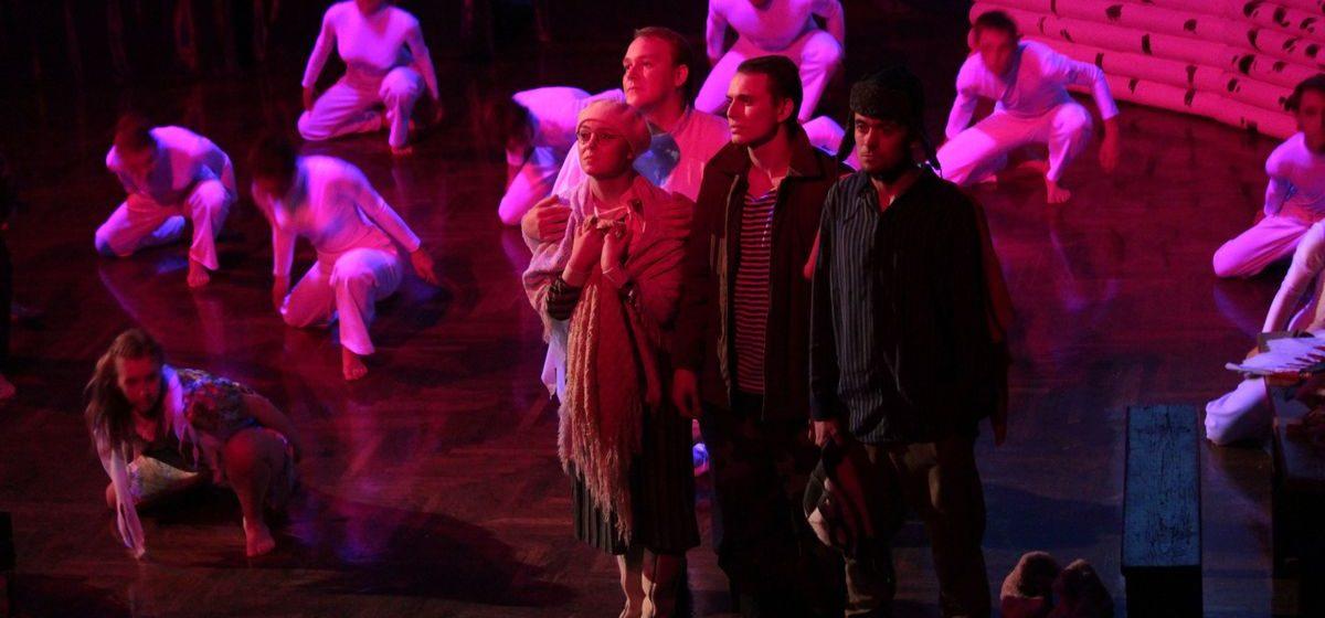 Барановичский театр-студия «Параллель» закрывает театральный сезон