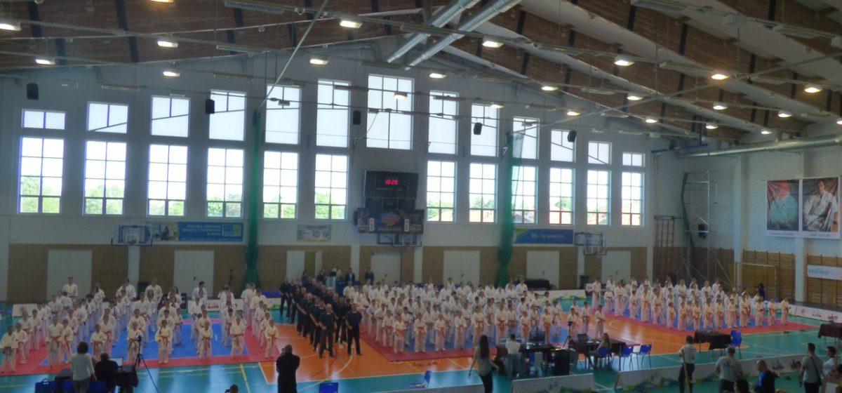 Юная барановичская каратистка выиграла турнир в Польше