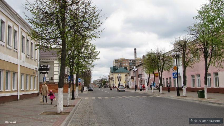 В Барановичах часть улицы Советской, возможно, сделают односторонней