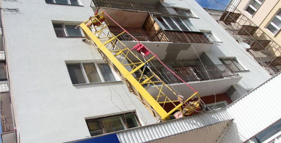 В Бресте оборвалась строительная люлька, пострадали три человека