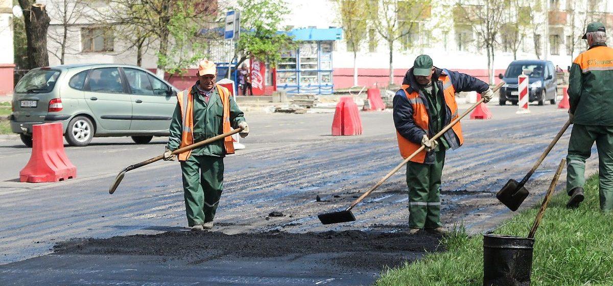 Какие улицы в Барановичах отремонтировали за счет дорожного фонда